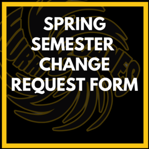 Spring Semester Change Request Form