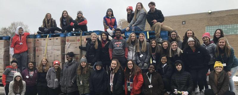 2019 Student Hunger Drive is a Success Featured Photo