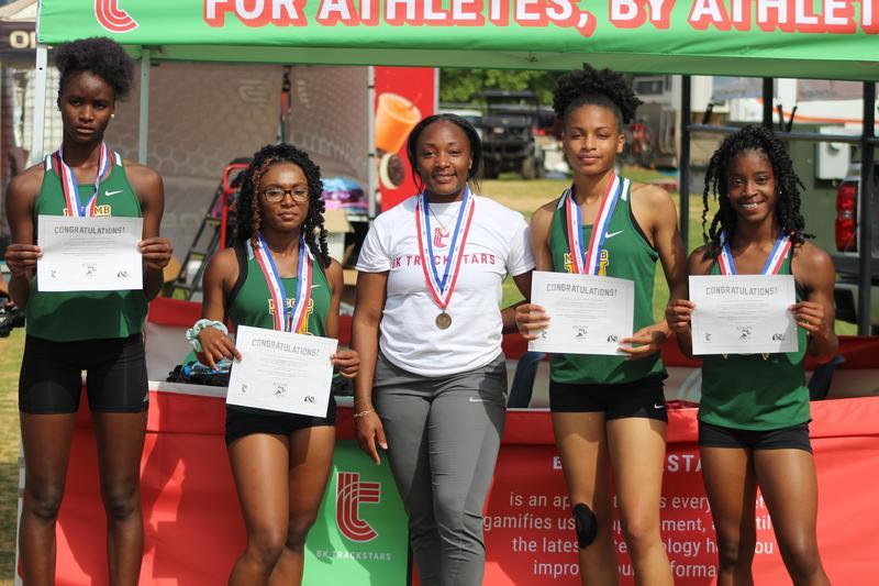 McComb High School Girls 4A State Champions 4x200 Relay Team 2021