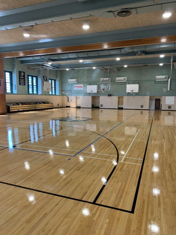 Cavallaro New Gym Floor - Honey Badgers
