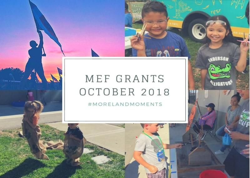 Three Grants Awarded to Moreland Schools Through  Moreland Education Foundation (MEF) Thumbnail Image