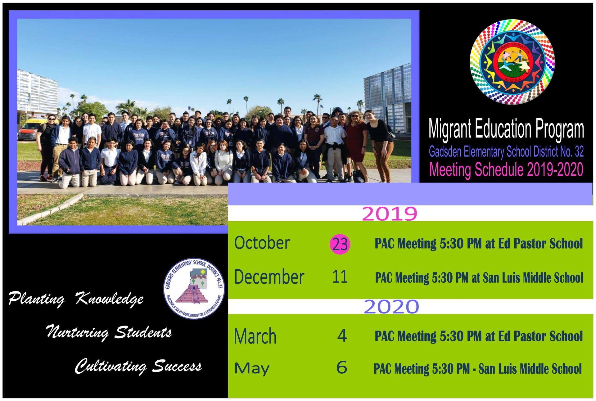 SLMS MIGRANT STUDENTS