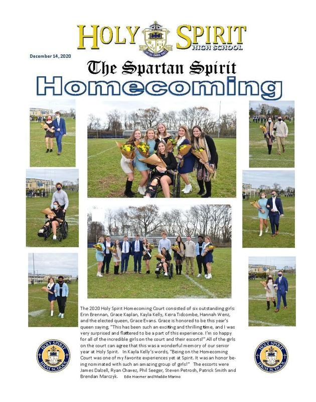 """""""The Spartan Spirit"""" School Newspaper Featured Photo"""