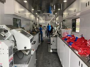 SWIC Precision Machining Technology trailer at CHS