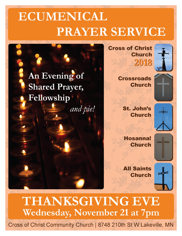 2018 Ecumenical Prayer Service