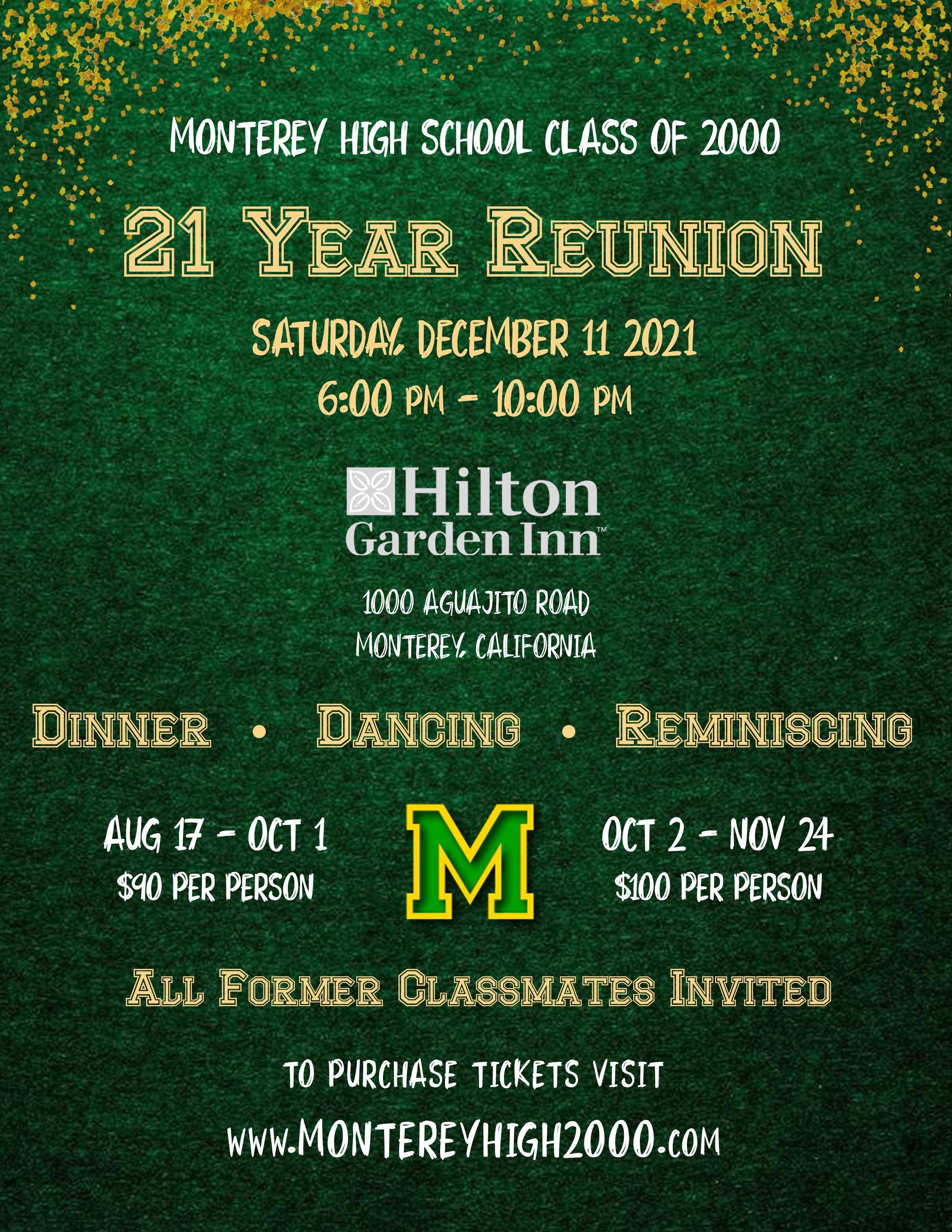 2000 High School Reunion