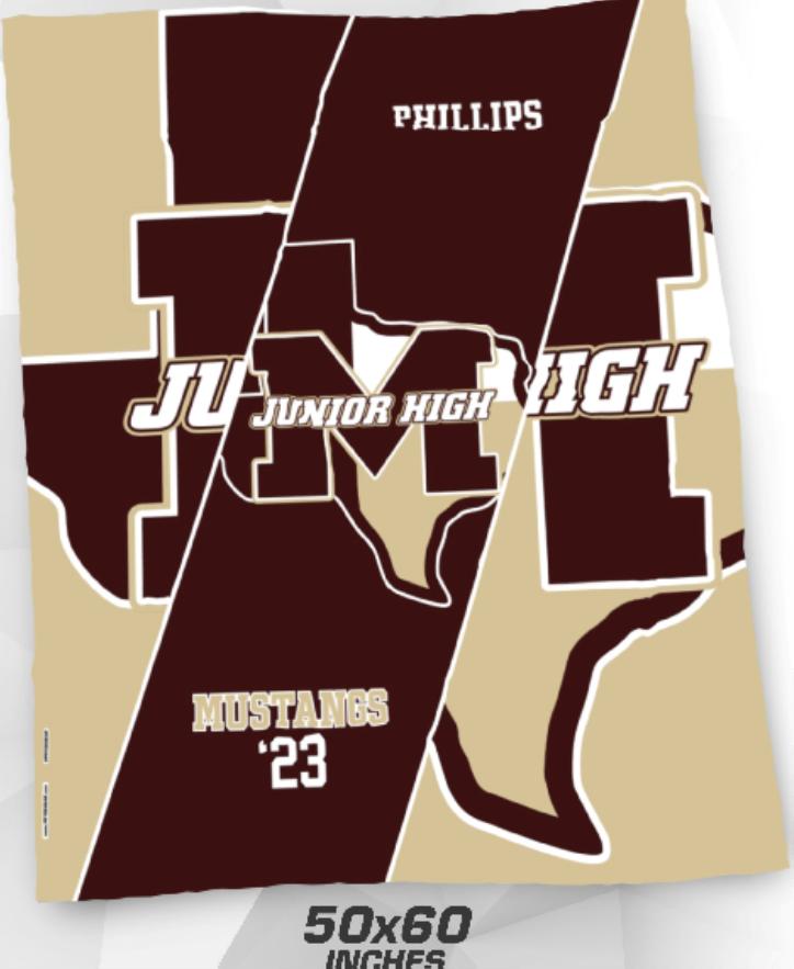 Mustangs Blanket