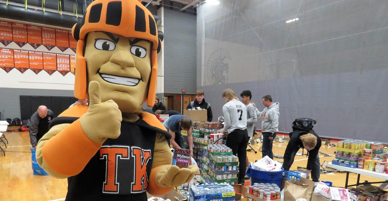 TK won the Fox 17 Food Fight Challenge by donating more than 10,600 pounds of food.