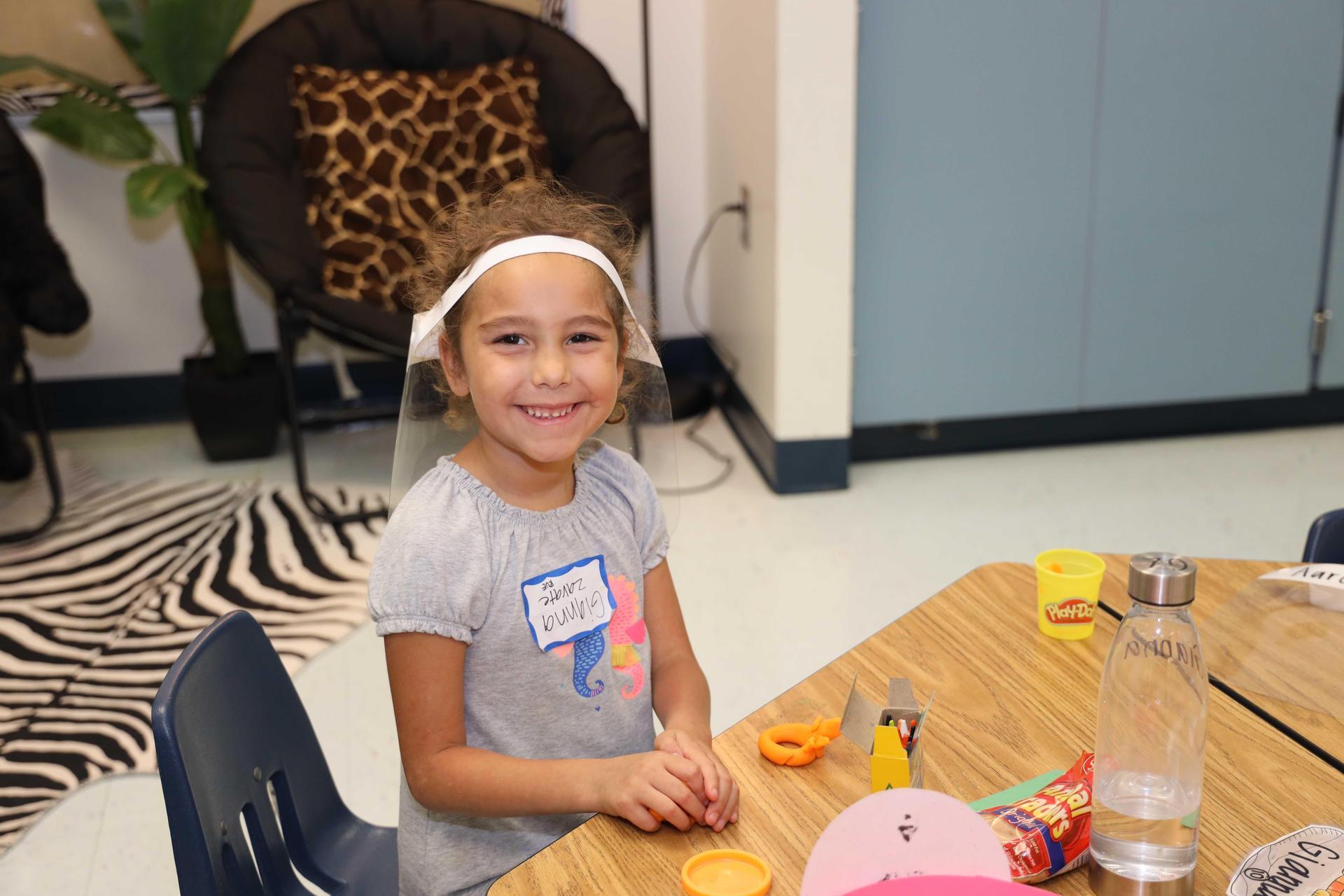 Parkwood Elementary K students return to school