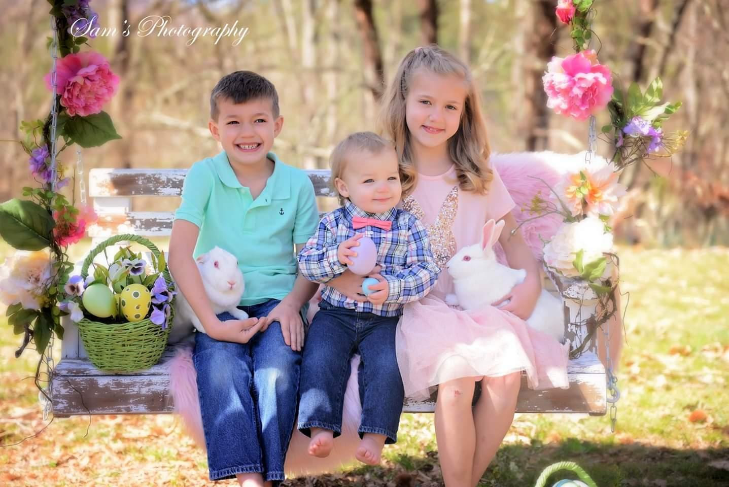 My beautiful children: Will, Carter, & Lolly Anne