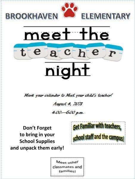 BES Meet the Teacher Thumbnail Image