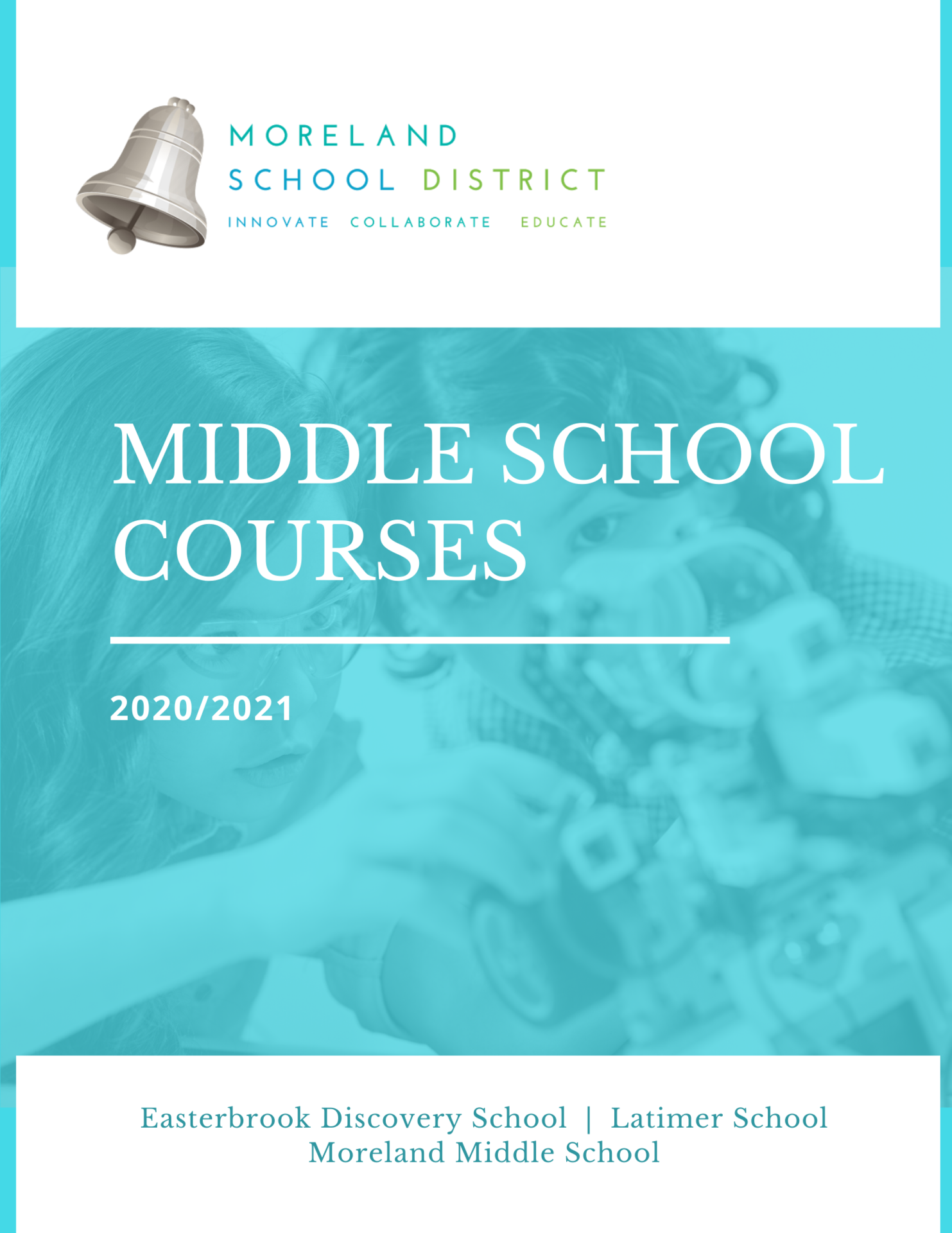 Middle School Course Catalog Cover