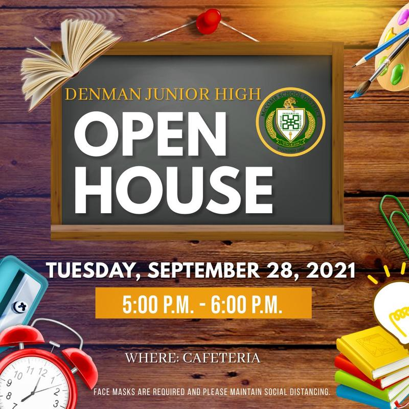 Denman Junior High School Open House 2021  Provided by the McComb School District Community Engagement Department.  #Reset