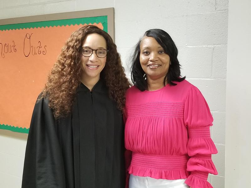 Hon. Judge Carol Jones-Russell & Dr. Virginia Young