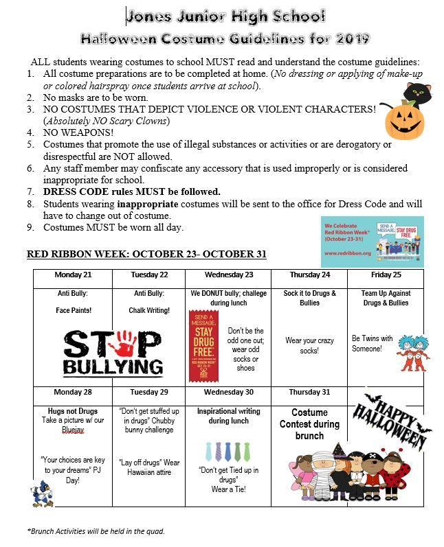halloween guidelines 2019- english
