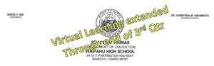 virtual learning header
