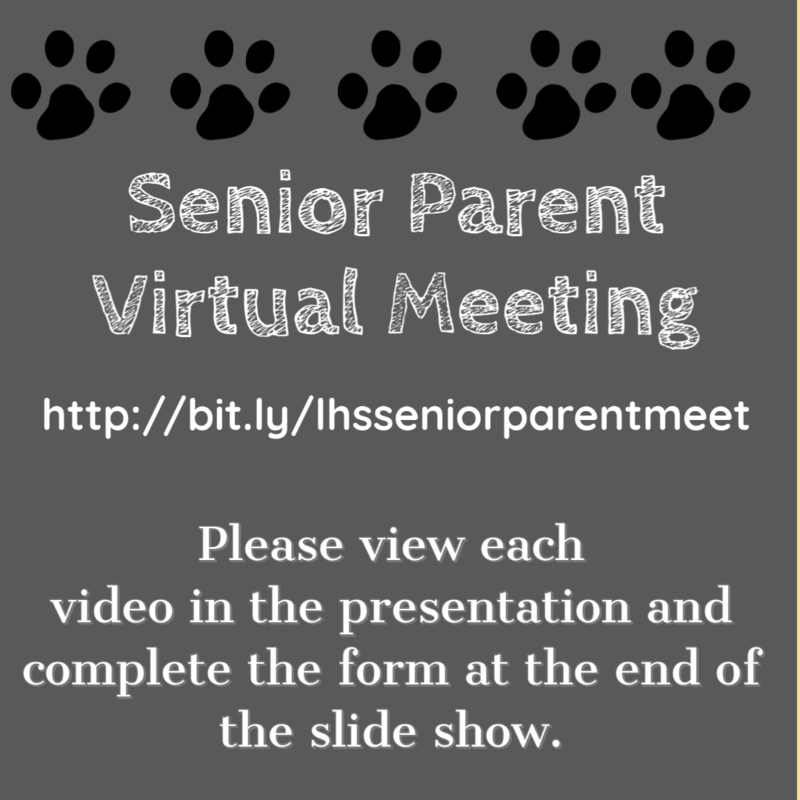 Senior Parent Virtual Meeting