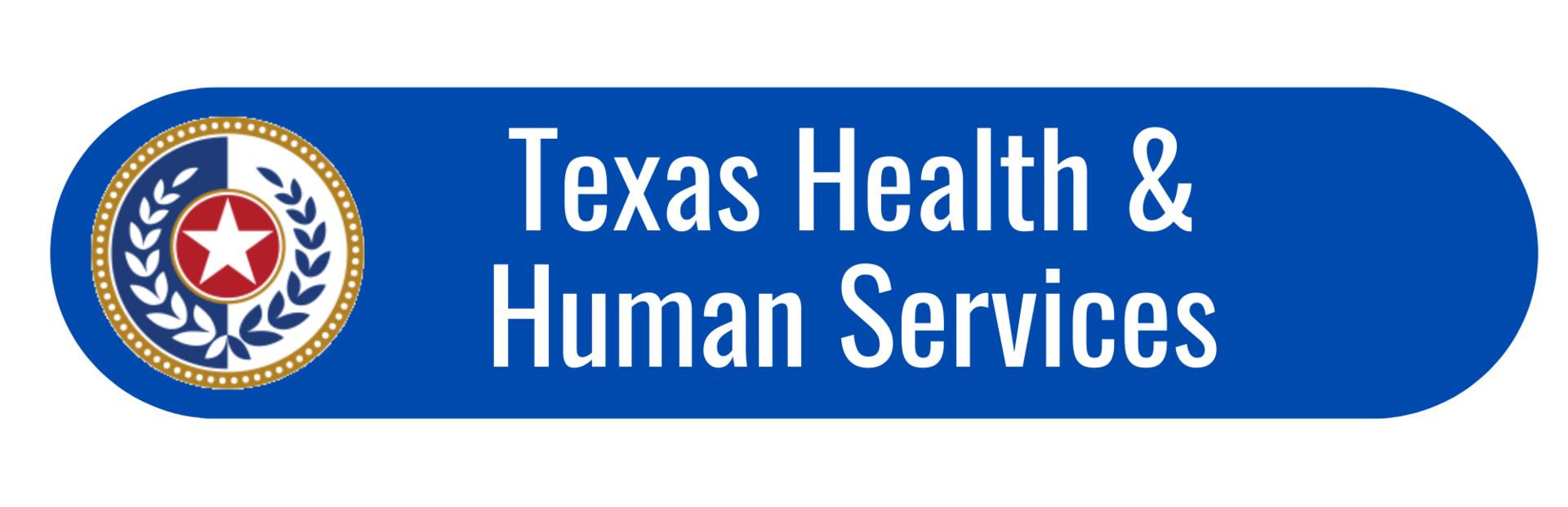 texas HHS button