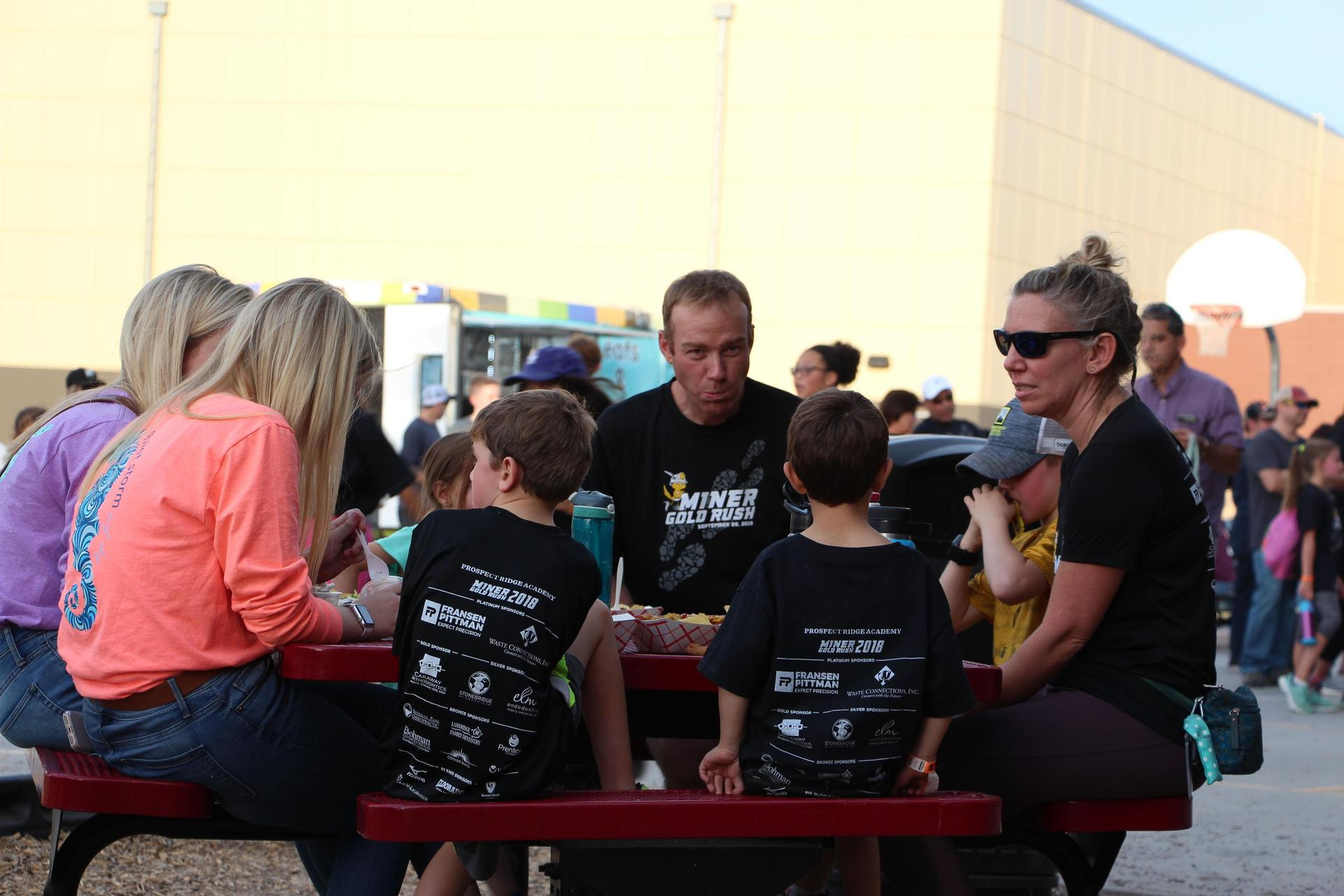 Fall Festival diners