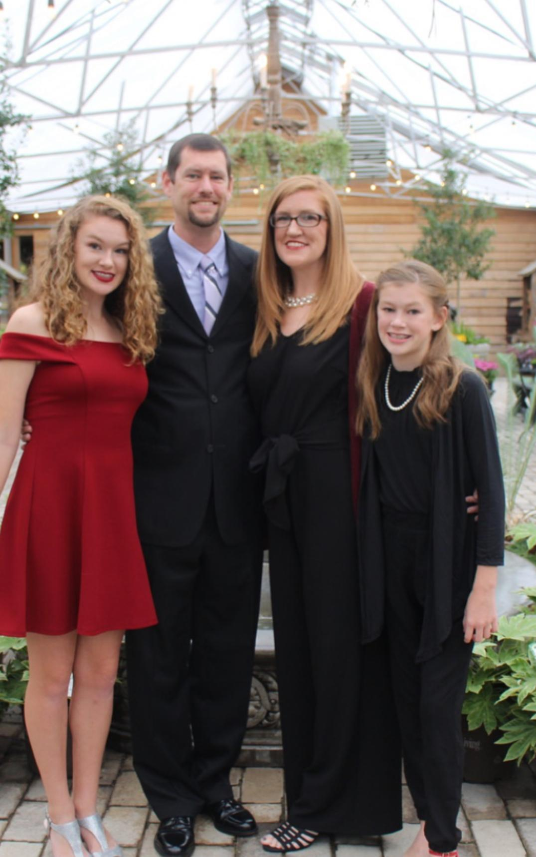 Mrs. Emily and her family