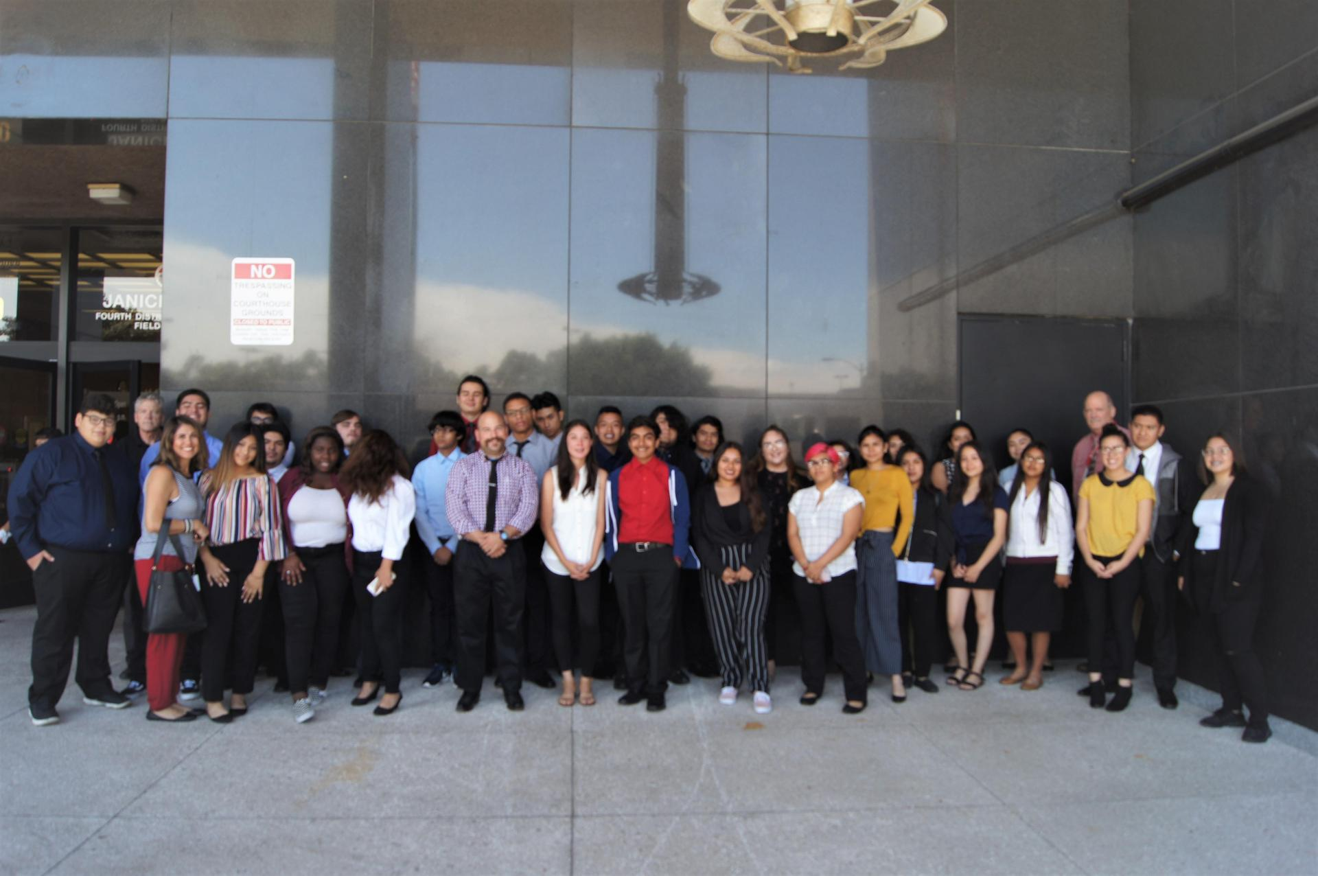 CCA visits the Norwalk Court House