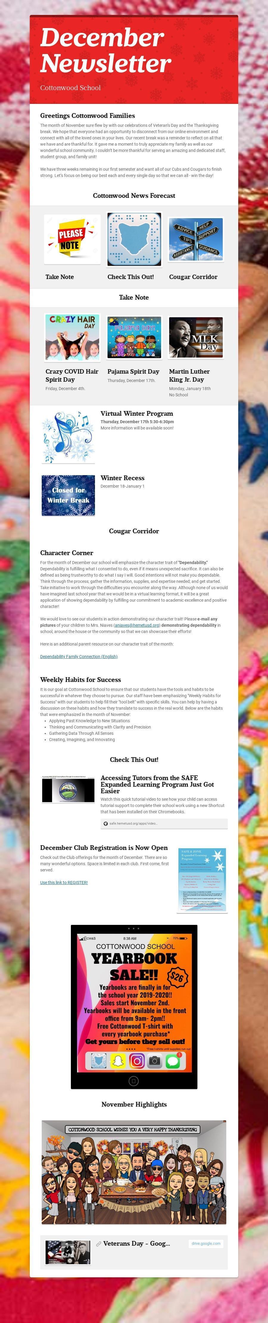 Newsletter December Image