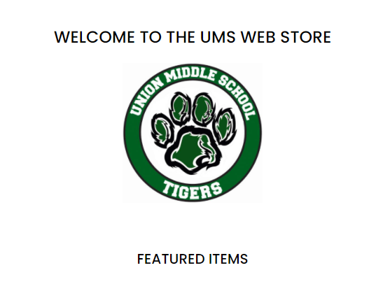 New UMS Webstore! Featured Photo