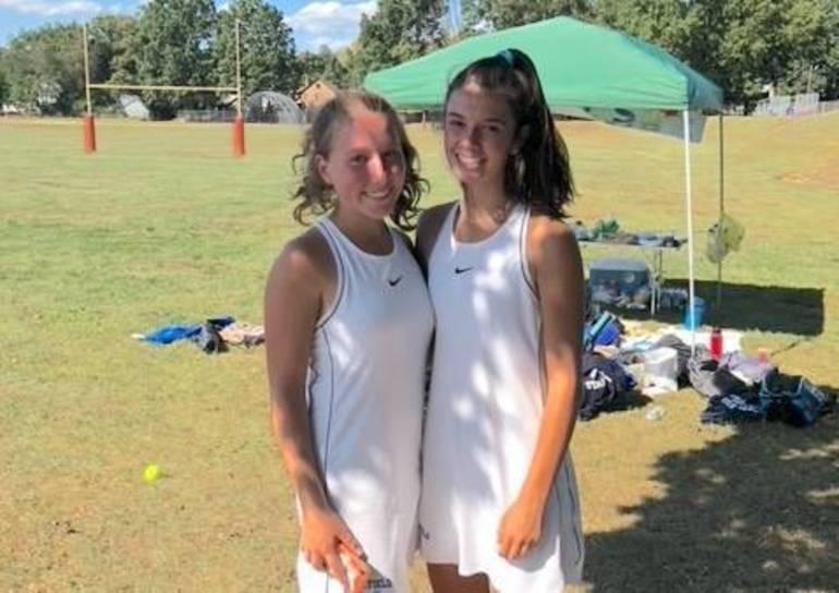 Payton Silverman & Mia Fleming Tennis Doubles Team Allstate Athletes of the Week