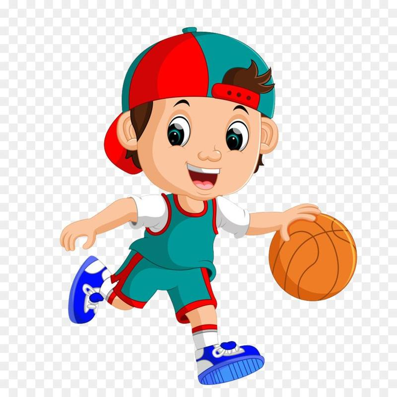 clip art of basketball player