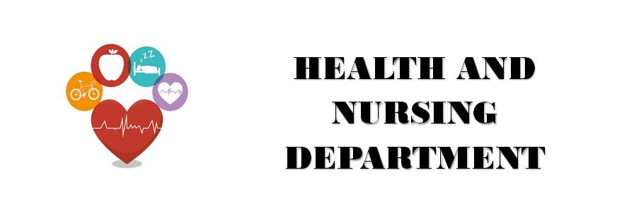 Health and Nursing Department