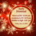 Early Dismissal Friday, December 21, 2018