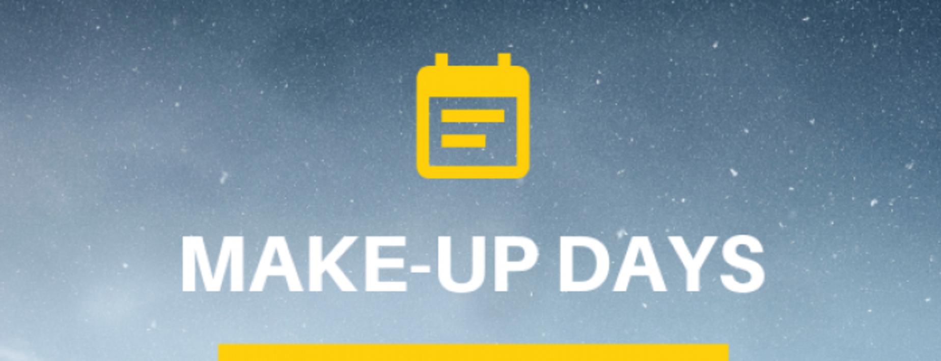 Make up days image