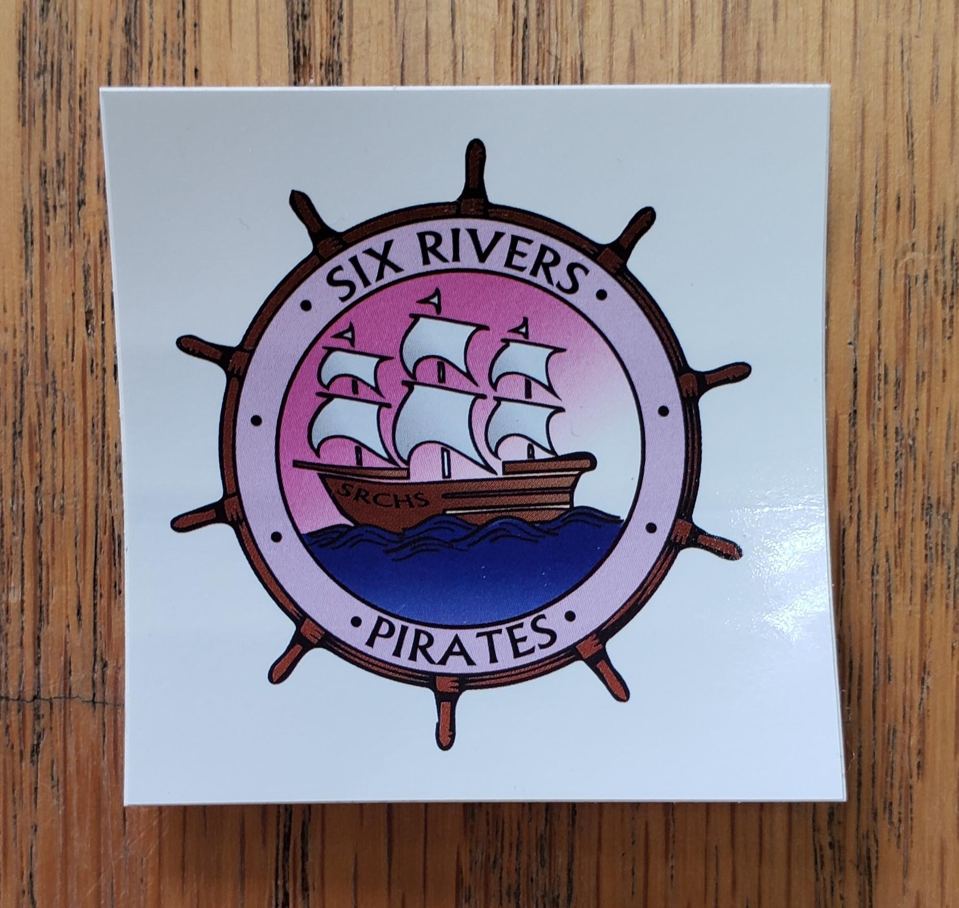 Mini Logo Sticker (with Sailboat)