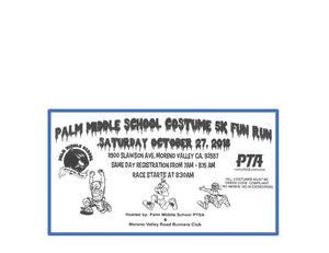 Palm Fun Run Flyer Header