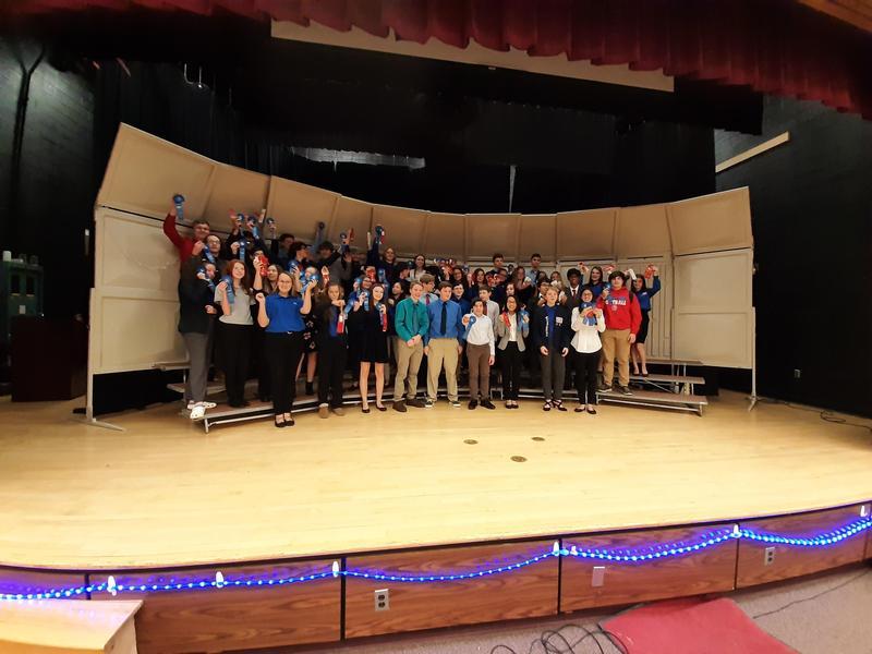 Richland High School Technology Student Association (TSA) Sweeps Regional Competition Featured Photo