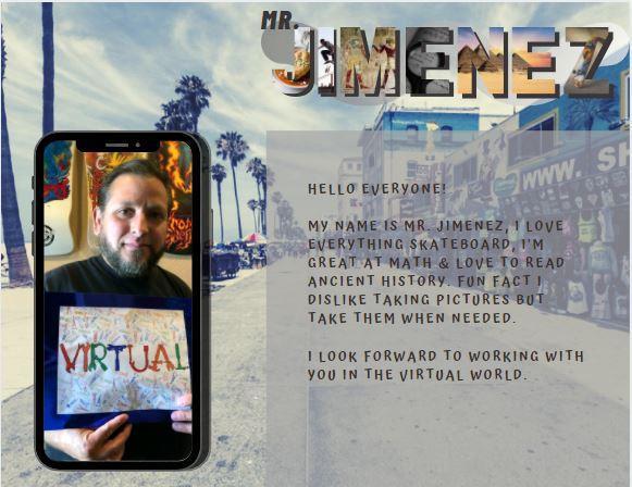 Meet Mr. Jimenez!
