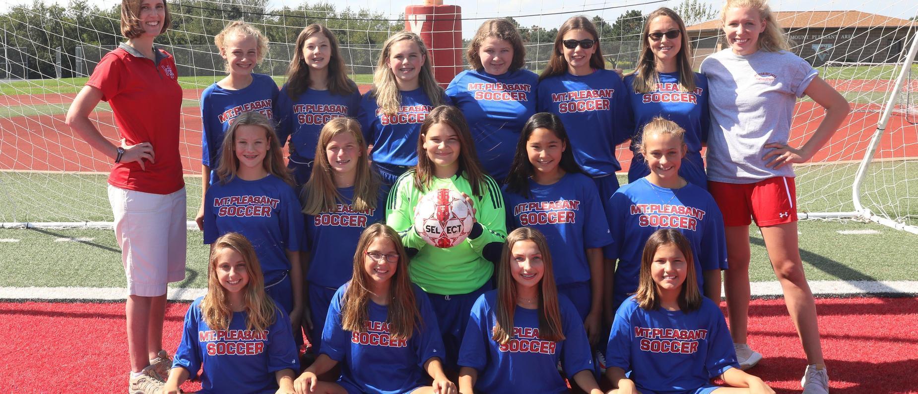 Jr High Girls Soccer