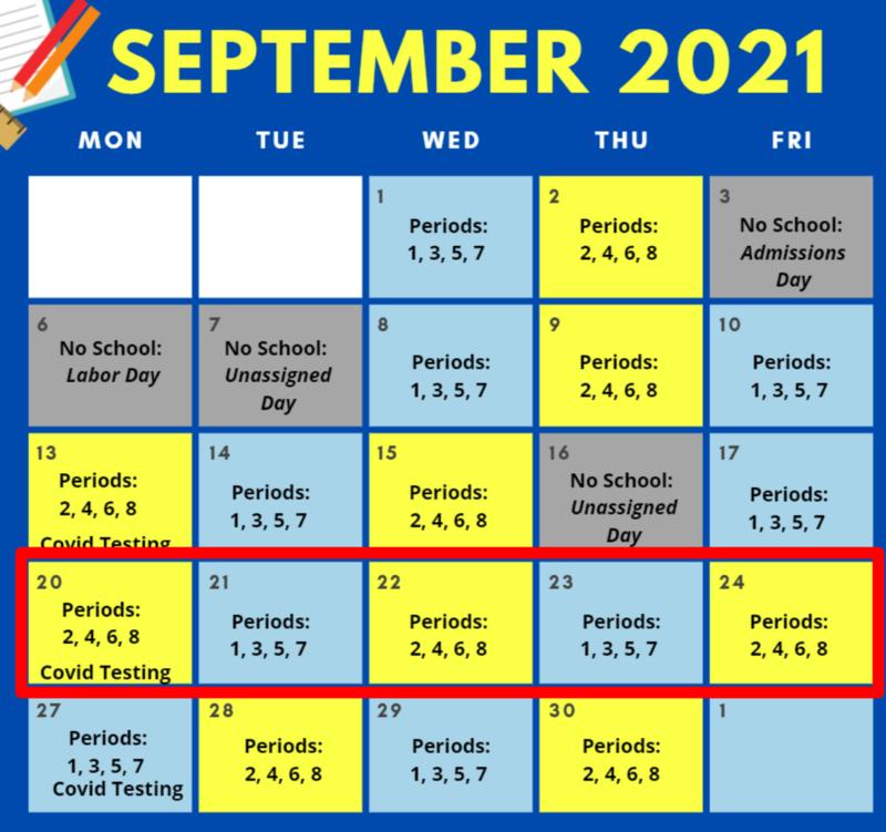 September Information for Parents / Información de septiembre para los padres Featured Photo