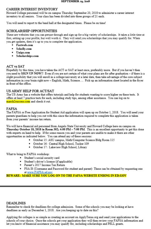 Senior Class Newsletter.PNG