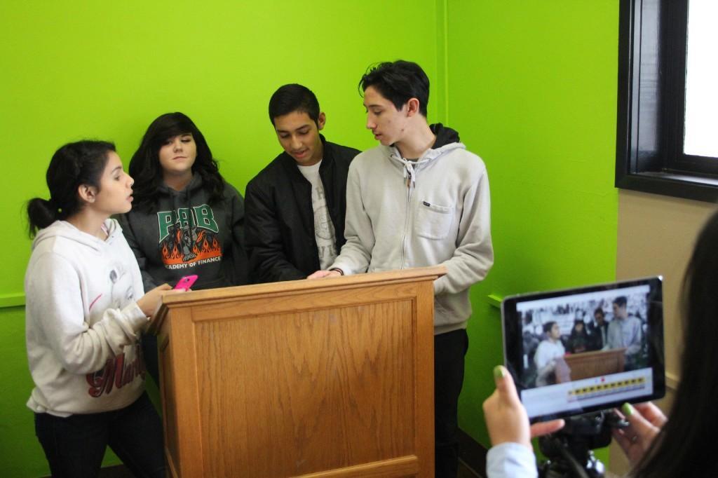 Create videos in the LMC Green Room