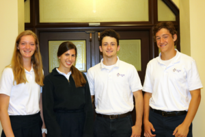 photo of 4 National Merit Commended Students from OLSH