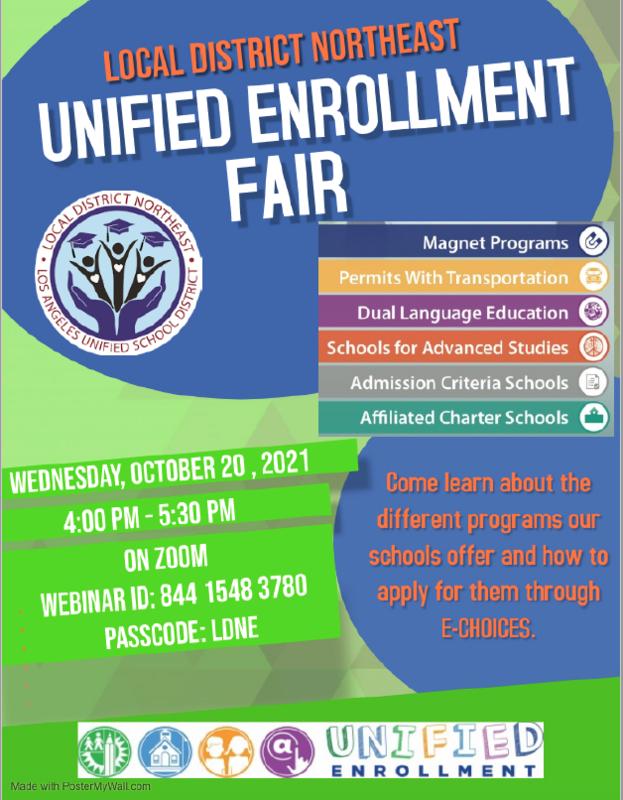 Unified Enrollment Fair Featured Photo
