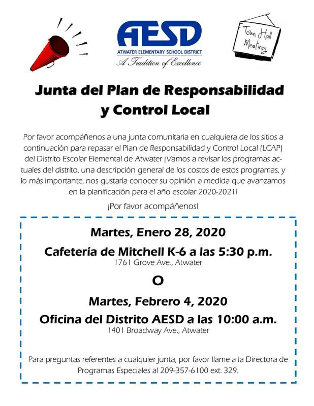 Spanish Town Hall Flyer