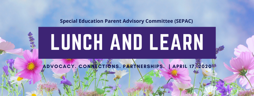 Lunch and Learn; Advocacy. Connections. Partnerships.; April 17, 2020