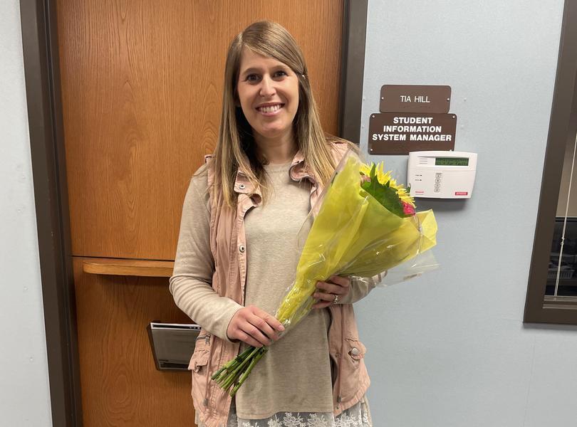 2021-22 DT Teacher of the Year: Mrs. Simerson