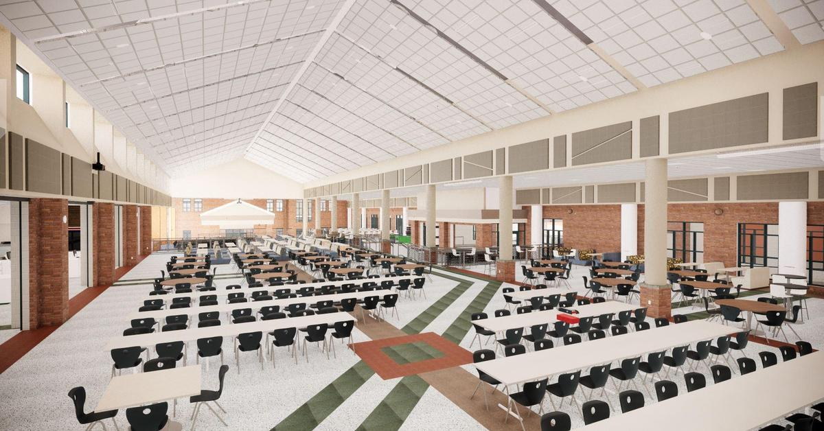 ZCHS Dining Commons From West