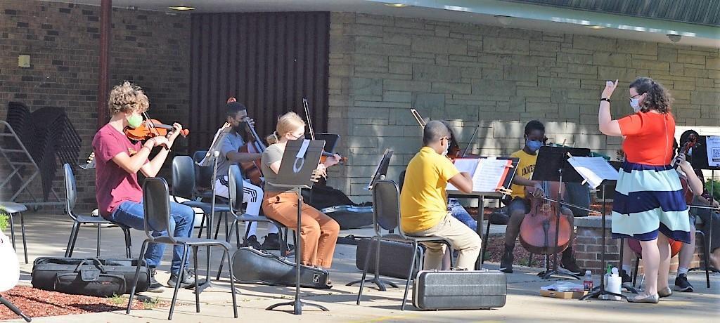 James Hart Orchestra outdoor concert