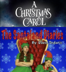 TMHS theatre presents A Christmas Carol and The Santaland Diaries