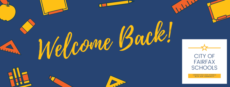 banner saying welcome back