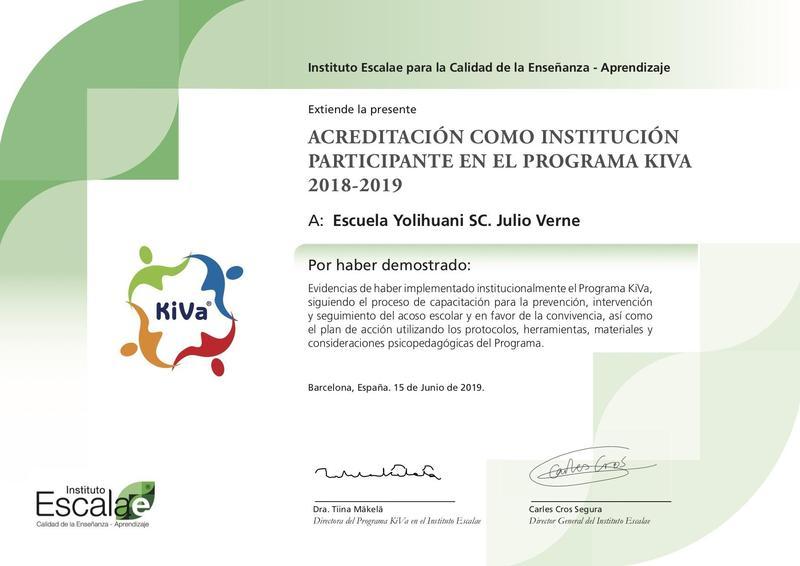 ESCUELA KIVA Featured Photo